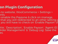 Set up a Payson Payment Gateway in WooCommerce | 1-(888) 602-0119