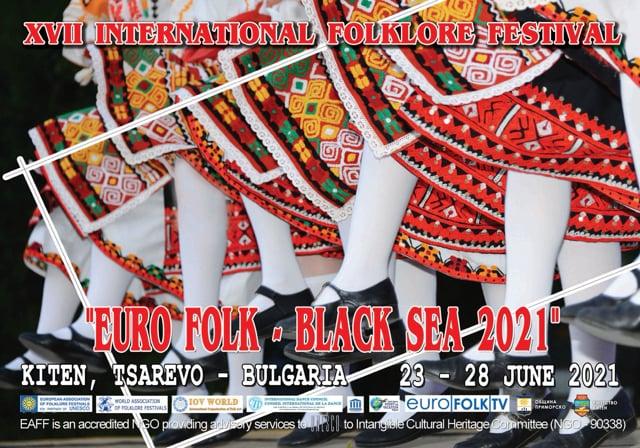 "26 June 2021 XVII International Folklore Festival ""Euro Folk - Black Sea 2021"""