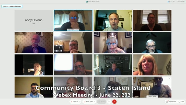 Community Board 3 Meeting - June 22, 2021