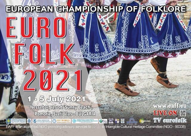 """XIII European Championship of Folklore """"Euro folk 2021"""""""