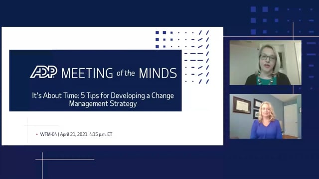 It's About Time: 5 Tips for Developing a Change Management Strategy