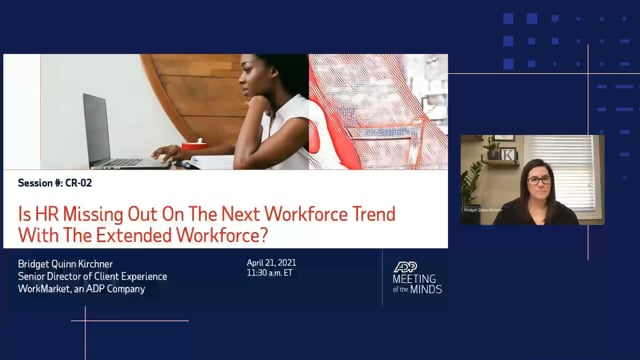 Is HR Missing Out On The Next Workforce Trend With The Extended Workforce?