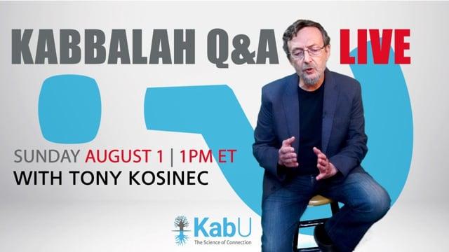 LIVE Q&A with TONY KOSINEC #43