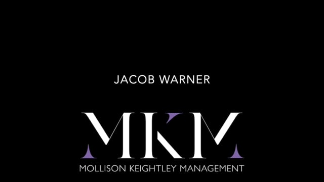 Showreel for Jacob Warner