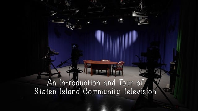 SICTV Instructional Video 1 of 10 - An Intro & Tour of Staten Island Community Television