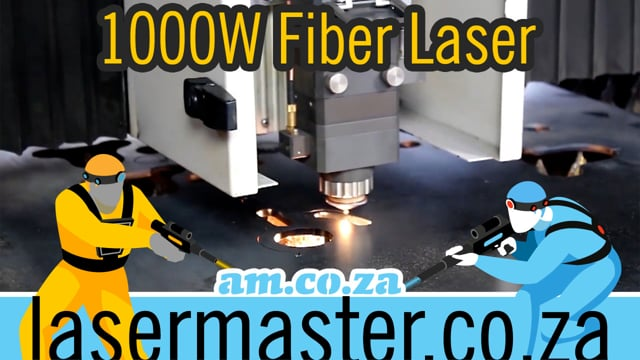 RAYCUT 1000W Fiber Laser Cut Different Thickness of Carbon Steel, Brass, Stainless by Laser Master
