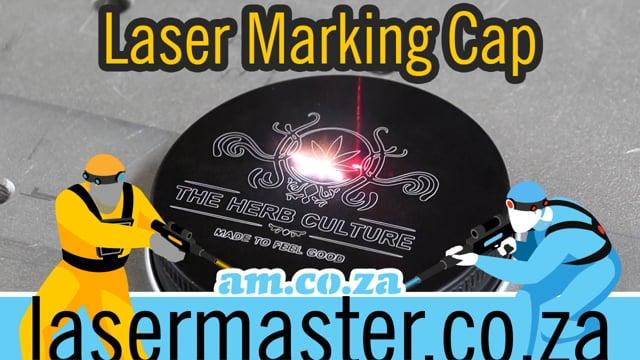 Master Fiber Laser, Learning Laser Marking on Aluminium Bottle Cap by LabelMark Fiber Laser Marker