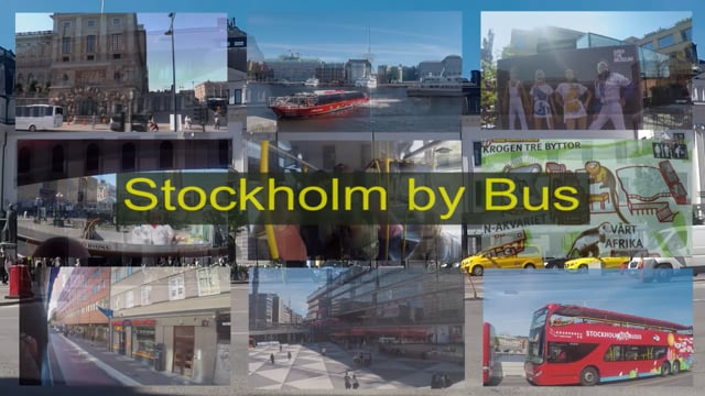 Stockholm by bus