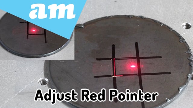 Adjust Engrave Position Indication Red Pointer Light for LabelMark Fiber Laser Marking Machine