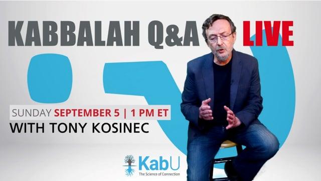 LIVE Q&A with TONY KOSINEC #44