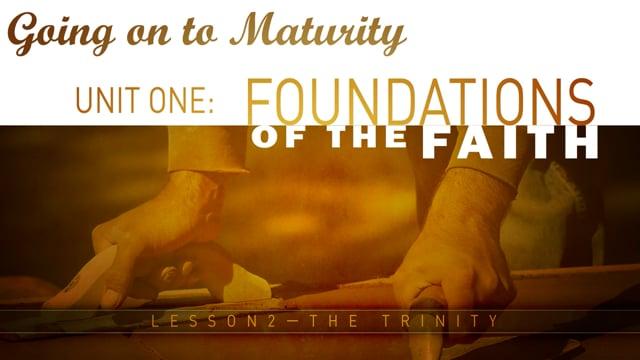 Lesson 02 - The Trinity