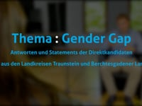 Thema: Gender Gap mit Patrick Weiß (FDP)