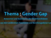 Thema: Gender Gap mit Wolfgang Ehrenlechner (Die Grünen)