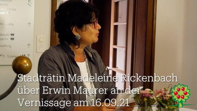 Kunst in Gang: Vernissage mit Erwin Maurer