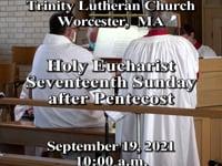 Trinity Lutheran Church Sunday Live @ 10am Worship Service