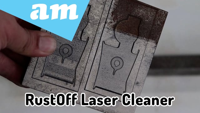 Introduce New RustOff Laser Cleaning System, Easy to Use and Cost Effective Fiber Laser Cleaner