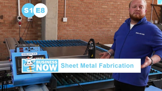 BusinessNow S1E8 - Start Sheet Metal Fabrication Business with MetalWise CNC Plasma Cutting Table