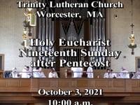 TLC Worship Service 10/03/2021