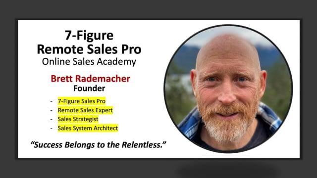 7-Figure Remote Sales Pro | Sales System Architect & Strategist