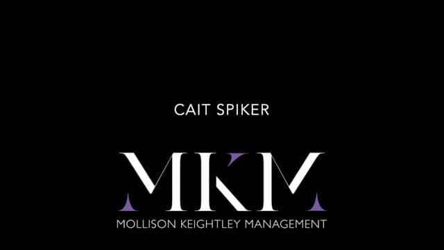 Showreel for Cait Spiker