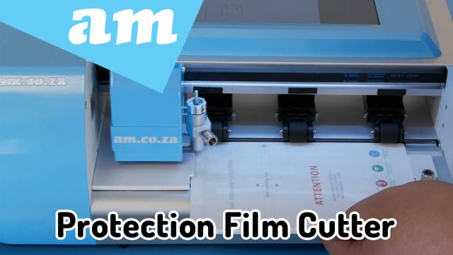 Screen Protection Film Cutter, Introduce V-Auto Automatic Film Cutting Plotter from AM.CO.ZA