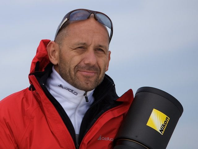Juerg Kaufmann Interview during the 33rd Americas Cup