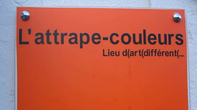 NICOLE RECHSTEINER à l'ATTRAPE COULEURS :  VERNISSAGE, EXPOSITION & FINISSAGE