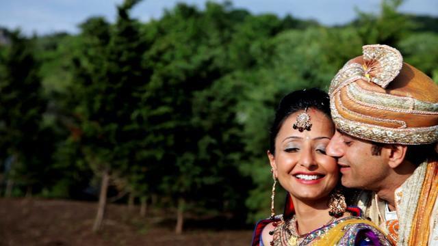 Castle Hill, Newport Rhode Island Indian Wedding