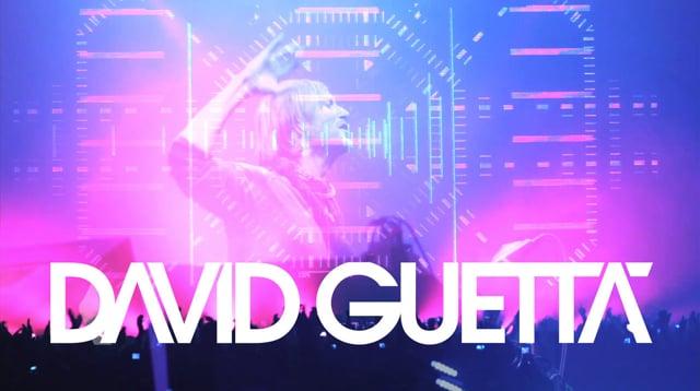 David Guetta's Last euro show