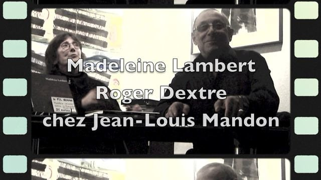 Madeleine Lambert et Roger Dextre