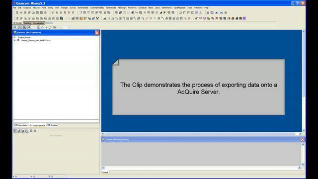 Minex -Export- acQuire Direct Implementation