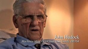 John Hudock, USS Gandy, DE-764