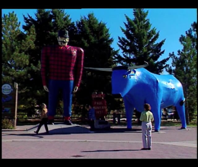 The Legend of Paul Bunyan - Northern Minnesota - Bemidji