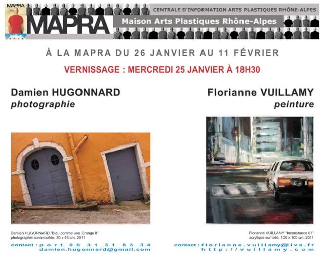 DAMIEN HUGONNARD - FLORIANNE VUILLAMY à la MAPRA