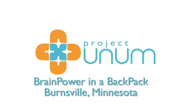 Project Unum - Brain Power in a Backpack