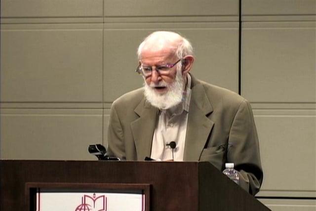 Geoffrey Hartman, Monday, October 3, 2011