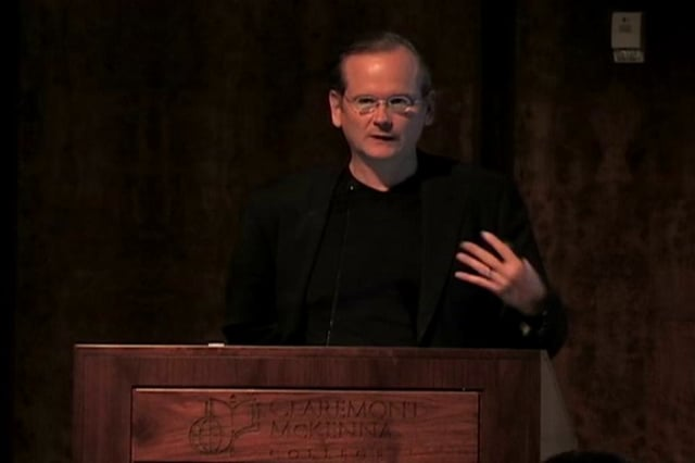 Lawrence Lessig, Thursday, October 27, 2011
