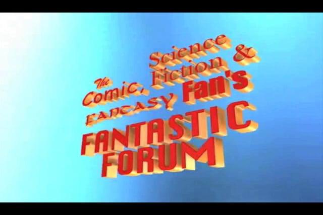 Fantastic Forum 3D Motion Graphics Bumper