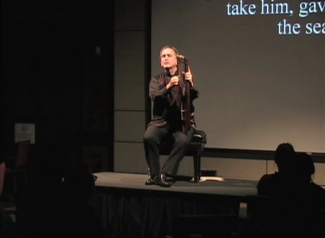 Benjamin Bagby, Thursday, September 29, 2011