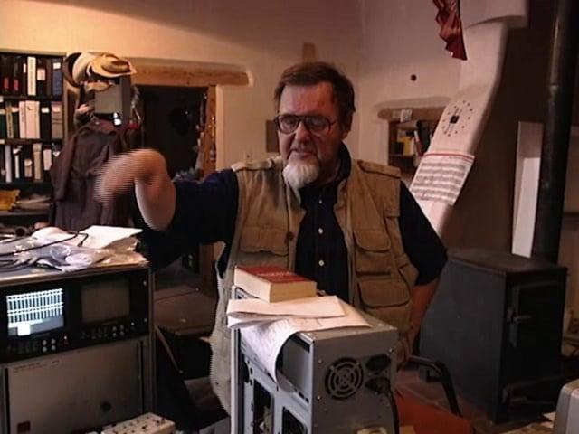 Woody Vasulka/ Making of 'The  Brotherhood' / 1996