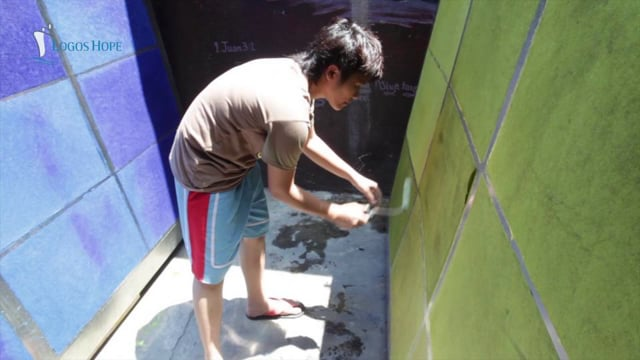 Challenge Team: Paper Making at YWAM in Olongapo, Philippines