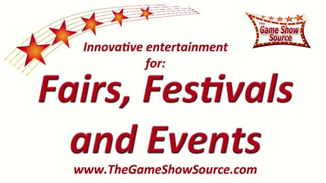 Fun, Interactive, Game Shows for Fairs, Festivals, and Events-Corporate Game Show Event