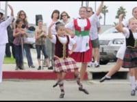 Highland Dancers, CCBCC Car Show 2012