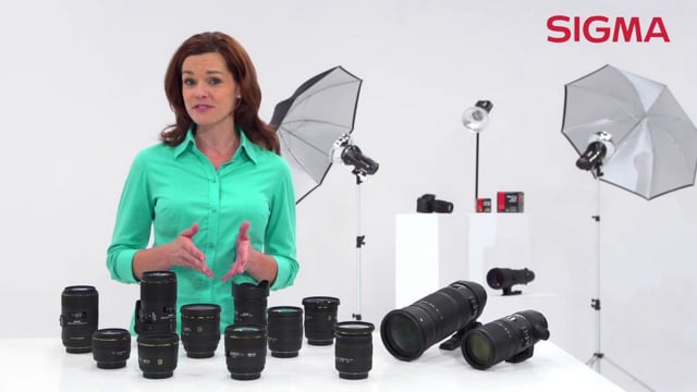 Sigma lenses in the studio and on location