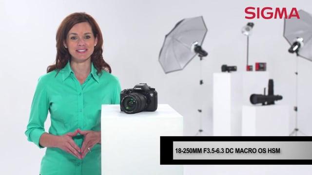 The Sigma 18-250mm-f3.5-6.3 Macro DC OS HSM