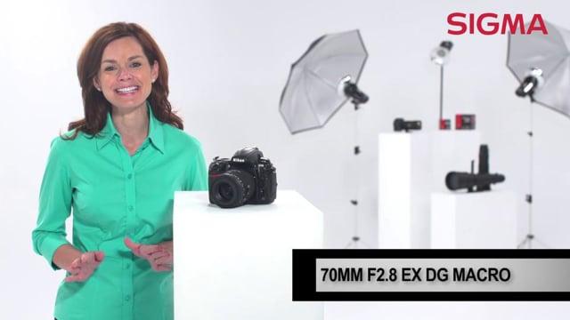 The 70mm F2.8 EX DG Macro