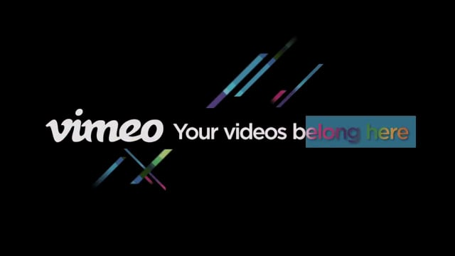Vimeo Production Reel 2012