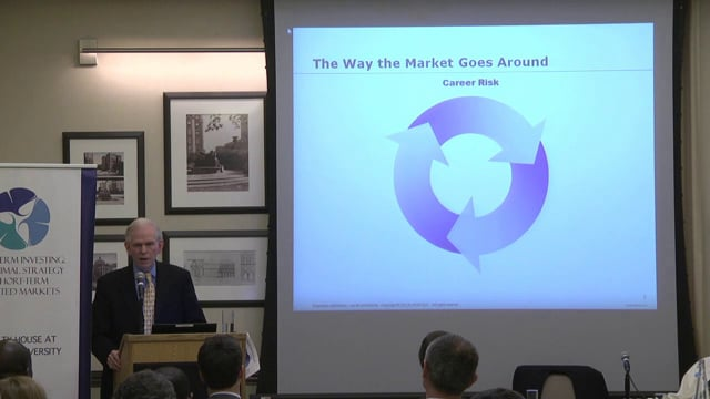 Long-Term Investing: An Optimal Strategy in Short-Term Oriented Markets<br /> <br /> Keynote Address<br /> <br /> Introduction by<br /> Paul Woolley<br /> Senior Fellow, London School of Economics<br /> <br /> Delivered by<br /> Jeremy Grantham <br /> Co-Founder and Chief Investment Strategist, Grantham Mayo Van Otterloo (GMO)