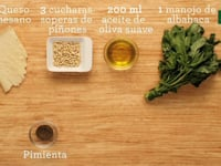 FOOD MOTION Pasta al Pesto