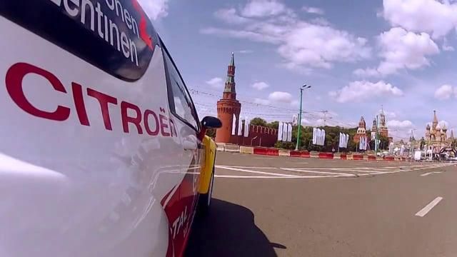Citroen at Moscow City Racing 2012